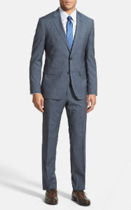 Hugo Boss Windowpane Two-Button Suit
