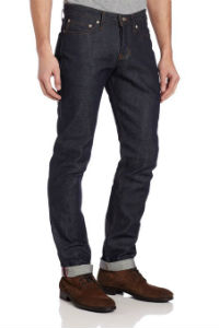 Naked and Famous Low Rise Tapered Selvedge Jeans