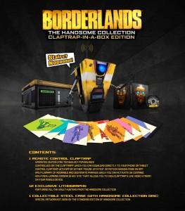 Borderlands: The Handsome Collection Claptrap in a Box Edition