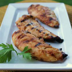 Healthy Dinner Idea: Honey Mustard Grilled Chicken