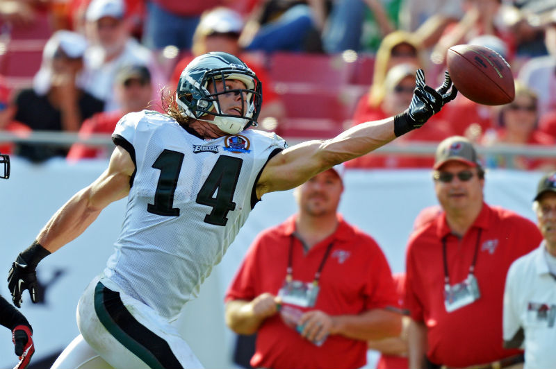 Riley Cooper will likely see a lot of targets next year.