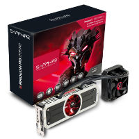 Sapphire Radeon R9 295X2 8GB GDDR5 DVI-D Quad Mini DP PCI-Express Graphics Card