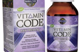 Garden of Life Vitamin Code RAW Prenatal Vitamin Review